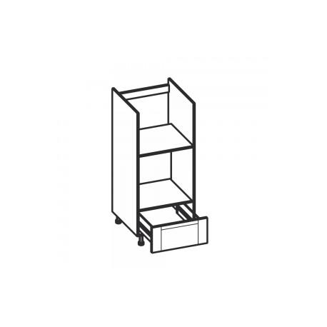 Olivia Soft Dolna komodowa 1 szuflada, zabudowa piekarnika i mikrofali KPM60S1