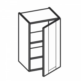 Olivia Soft Górna 1 drzwi, 2 półki W...1