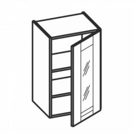 Olivia Soft Górna witryna 1 drzwi, 2 półki WW...1