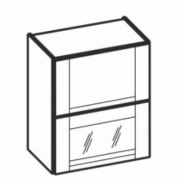 Olivia Soft Górna witryna 2 drzwiowa otwierane do góry WO2W...