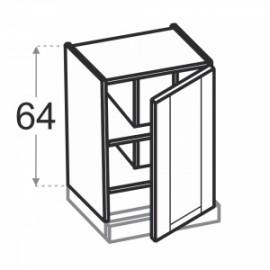 Olivia Soft Górna 1 drzwi, zabudowa okapu W60.1/64...